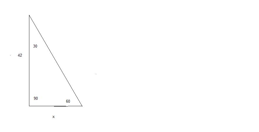 how to find hypotenuse with opposite side